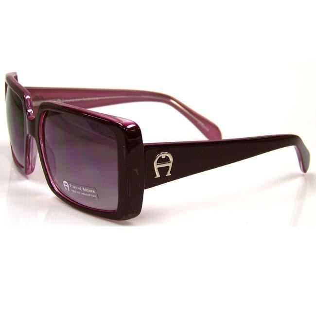 Etienne Aigner 'EA Giverny' Women's Purple-Frame Fashion Sunglasses