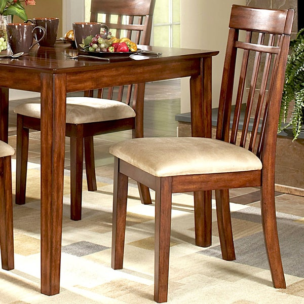 TRIBECCA HOME Daphne Burnished Cherry Mission Dining