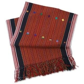Handmade Guatemala Highlands Cotton Table Runner (Guatemala)