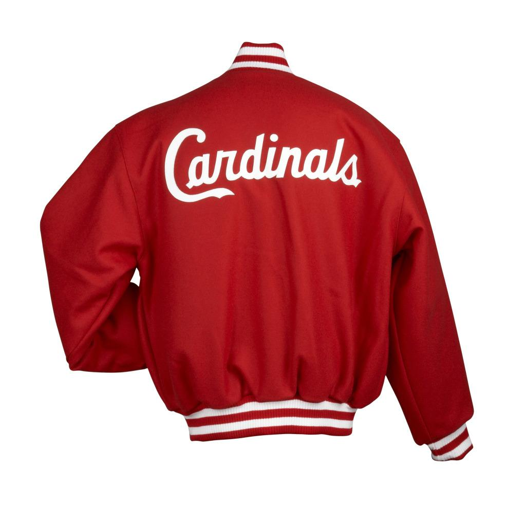 JH Designs Men's St. Louis Cardinals Domestic Wool Jacket - Thumbnail 1