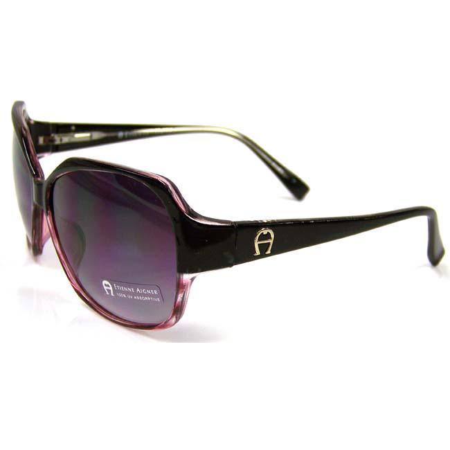 Etienne Aigner Women's 'EA Sahara' Plastic Fashion Sunglasses
