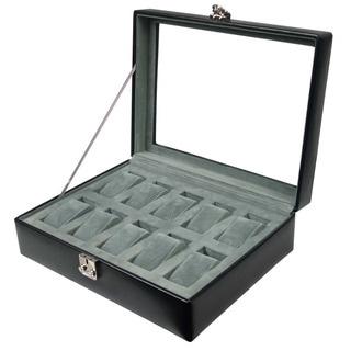 WOLF 10-piece Watch Box Display Case