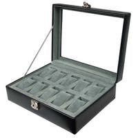 WOLF 10-piece Watch Box Display Case