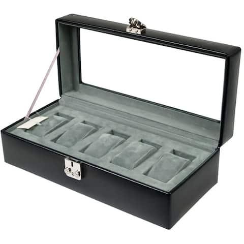 WOLF 5-piece Watch Box