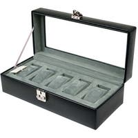 WOLF 5-piece Watch Box