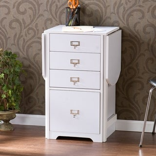 Link to London White Fold-out Organizer and Craft Desk Similar Items in Home Office Furniture