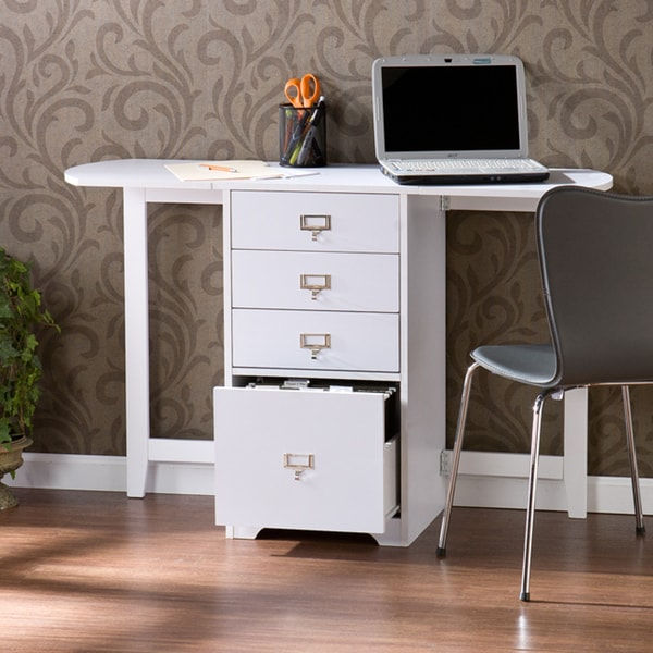 Harper Blvd London White Fold Out Organizer And Craft Desk