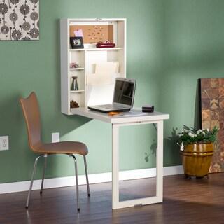 Harper Blvd Murphy Winter Antique White Fold-out Convertible Desk