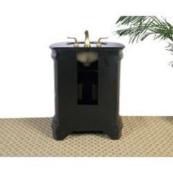 Granite Top 28-inch Single Sink Vanity
