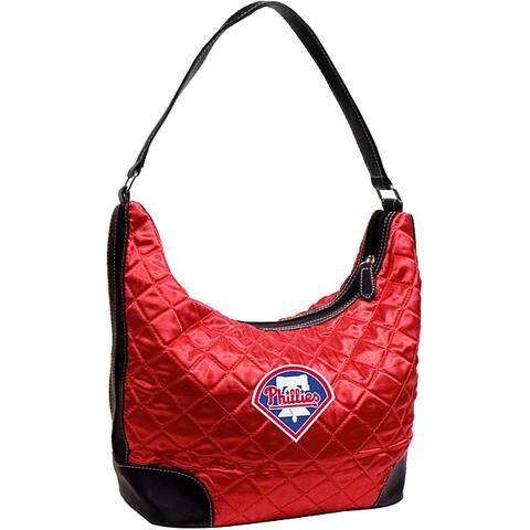 Little Earth MLB Philadelphia Phillies Quilted Hobo Handbag