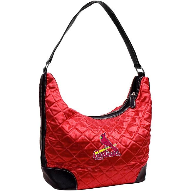 St. Louis Cardinals Quilted Hobo Handbag