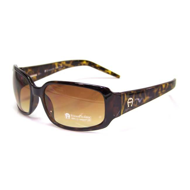 Etienne Aigner 'EA Aquarius' Women's Tortoise Fashion Sunglasses