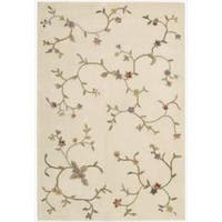 "Nourison Hand-tufted Ivory Spring Hill Rug (7'9 x 9'9) - 7'9"" x 9'9"""