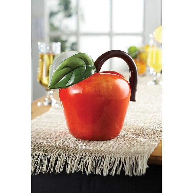 American Atelier Fresh Fruit Apple Pitcher