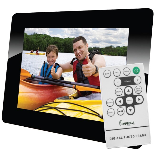 Impecca DFM842A 8-inch Digital Photo Frame