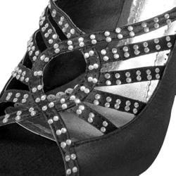 Liliana by Adi Women's 'Diesel-4' Slingback Peep Toe Pumps