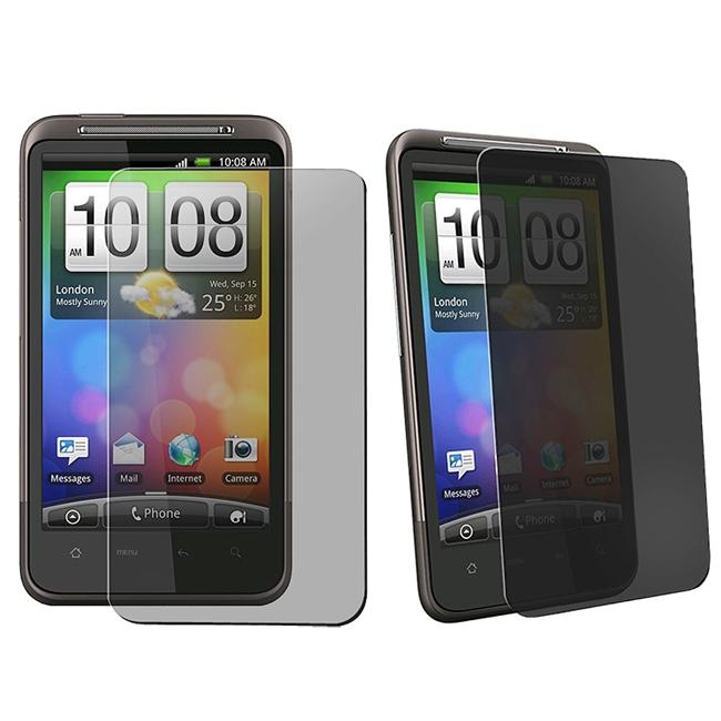 Privacy Filter Screen Protector for HTC Inspire 4G/ Desire HD