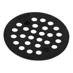 Moen Pewter 4.25-inch Shower Strainer