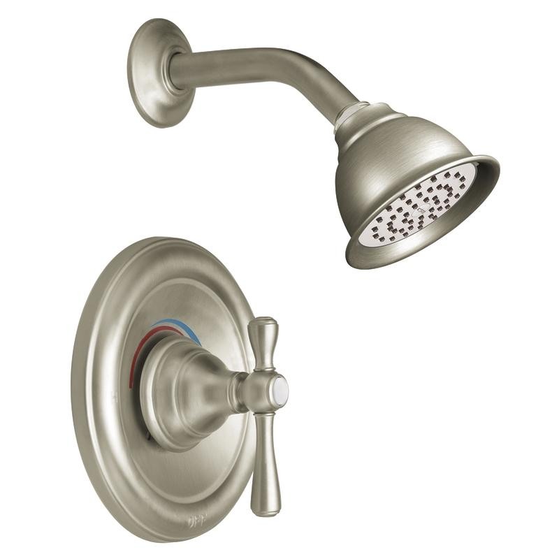 Shop Moen Brushed Nickel Moentrol Shower Kit - Free Shipping Today ...