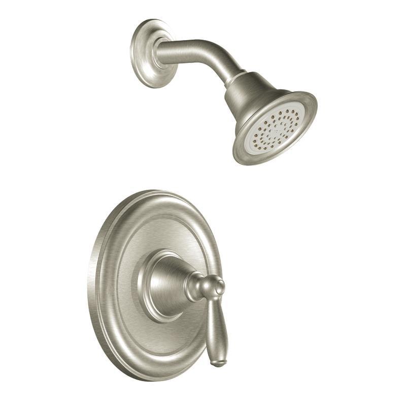 Moen Brushed Nickel PosiTemp Showerhead