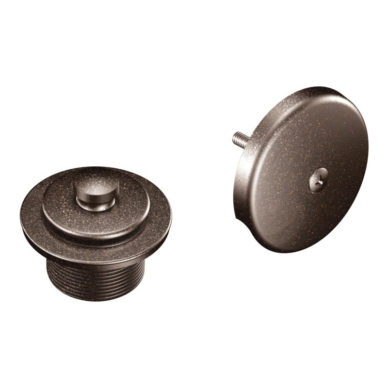 Moen Oil Rubbed Bronze Tub Shower Drain Cover Free