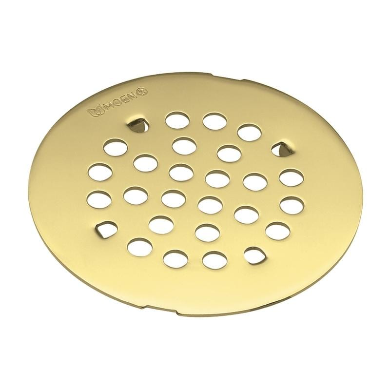 Moen Polished Brass Tub And Shower Drain Cover Free