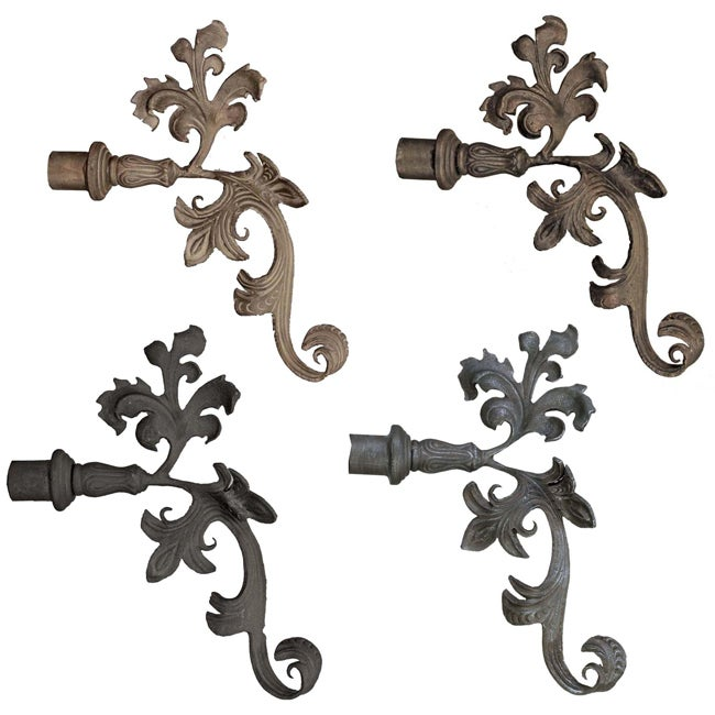 Shop Casa Artistica By Menagerie Extended Leaf Finials