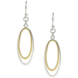 La Preciosa Sterling Silver Oval Earrings