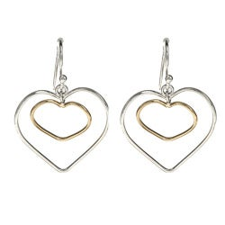 La Preciosa Sterling Silver Heart Earrings