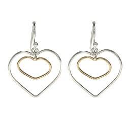 La Preciosa Sterling Silver Heart Earrings