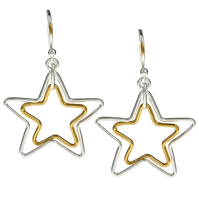 La Preciosa Sterling Silver Star Earrings