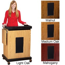 OSC Smart Cart Lectern with Sound