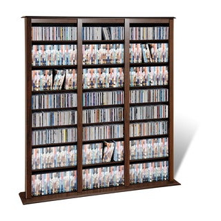 Prepac Everett Espresso Barrister Media Storage Cabinet