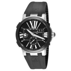 Ulysse Nardin Men's 'GMT Dual Time' Rubber Strap Watch