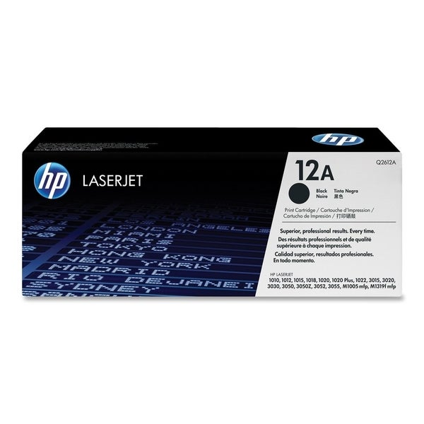HP 12A Original Toner Cartridge - Single Pack