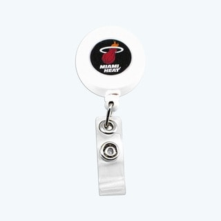 Miami Heat Retractable Badge Reel