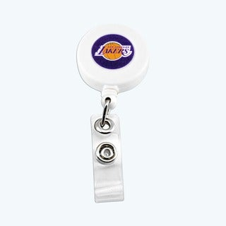 Los Angeles Lakers Retractable Badge Reel
