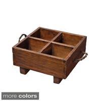 Vintage European-style Milk Crate