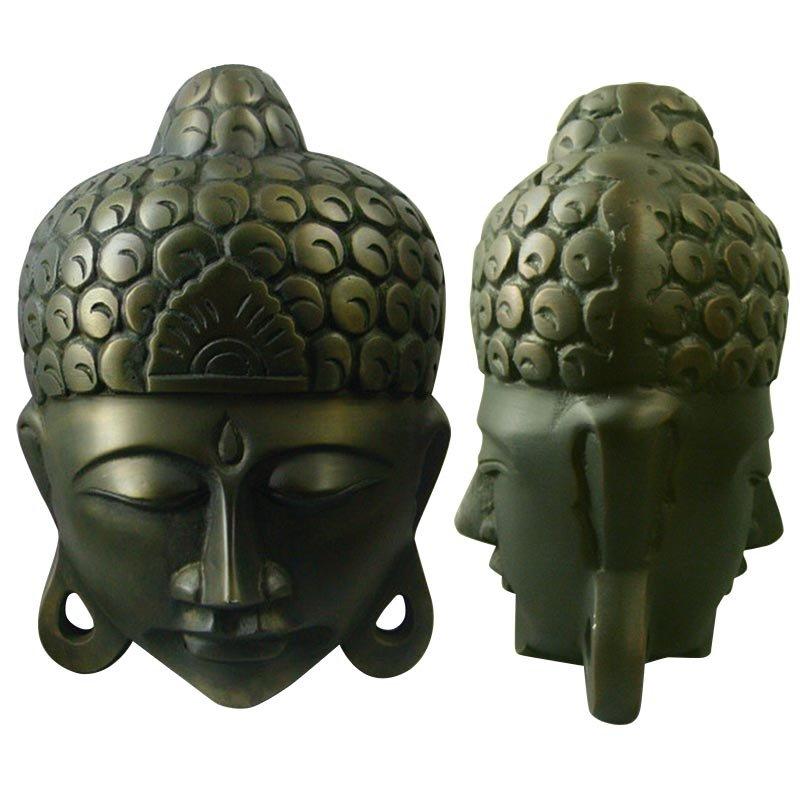 Metal Vase Serenity Large Buddah Vase