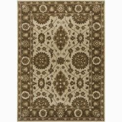 Artist's Loom Hand-tufted Traditional Oriental Wool Rug (9'x13') - 9' x 13' - Thumbnail 0