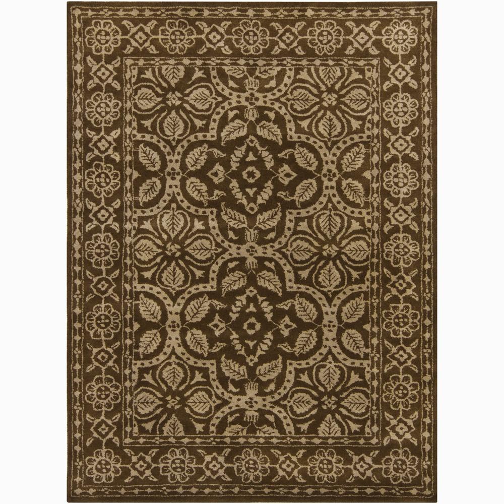 Artist's Loom Hand-tufted Traditional Oriental Wool Rug - 7'9 x 10'6