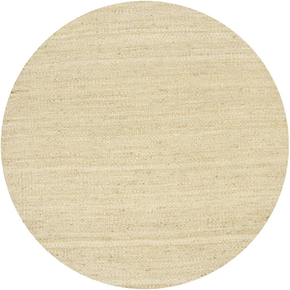 Artist's Loom Hand-woven  Casual Reversible Natural Eco-friendly Jute Rug (7'9 Round)