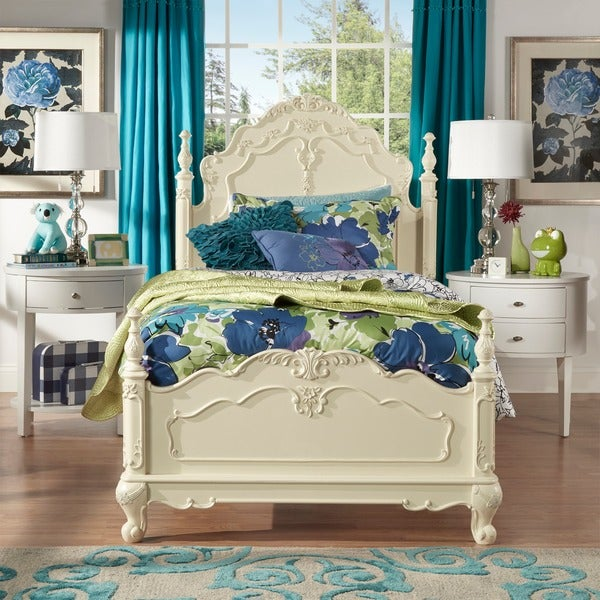 TRIBECCA HOME Fairytale Victorian Princess Bed