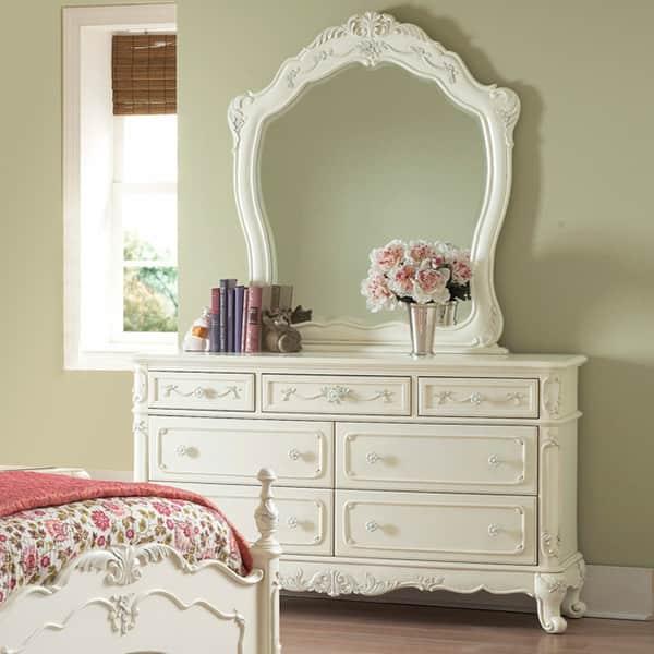 Victorian Princess White Dresser