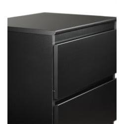 Escala Black Four-drawer Dresser