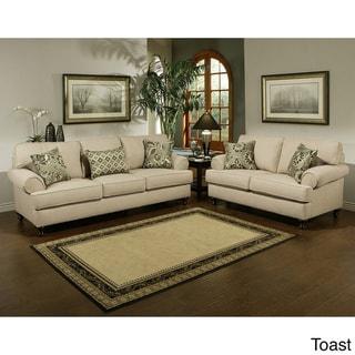 Furniture of America Prosper Sofa and Loveseat Furniture Set