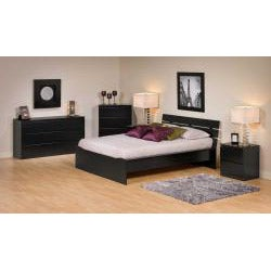 Escala Black Six-drawer Dresser - Thumbnail 2