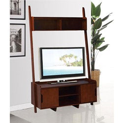 Cappuccino Leaning Ladder 45-inch TV Entertainment Console