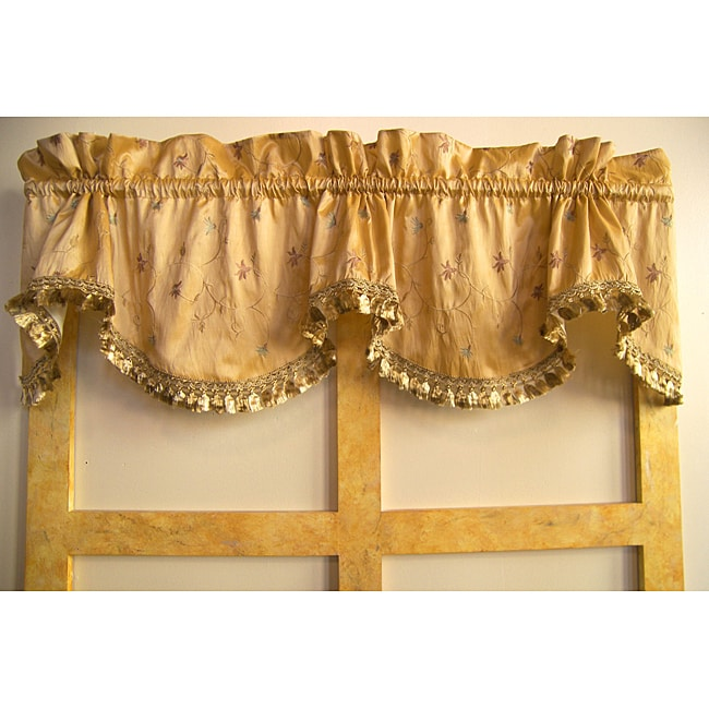 Le Fleur Flounce Valance Free Shipping Today 5981009