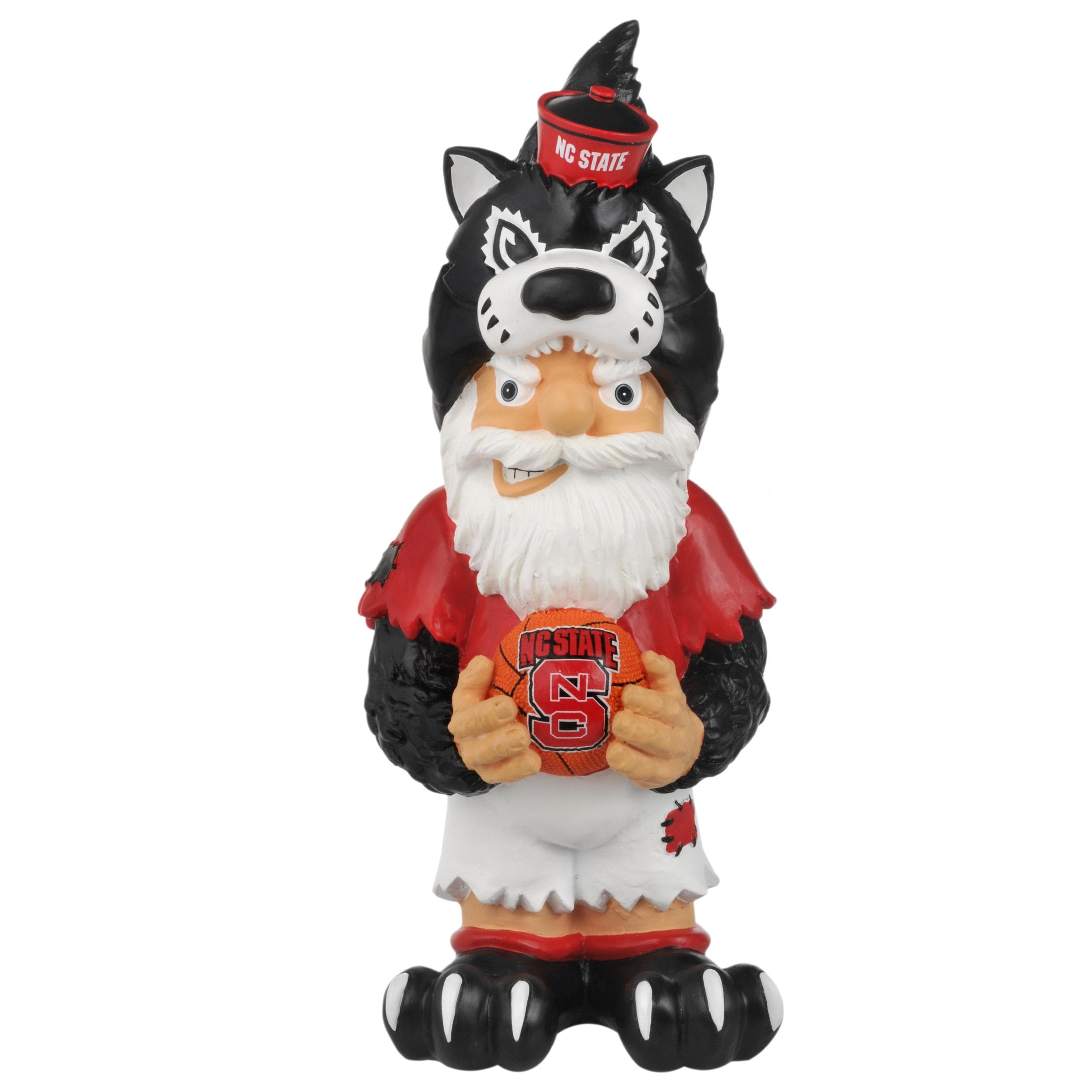 North Carolina State Wolfpack 11-inch Thematic Garden Gnome - Thumbnail 1
